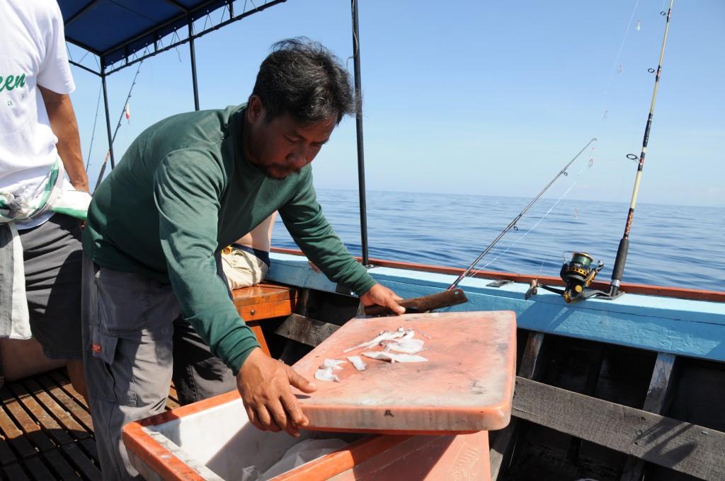 Fischen vor Khao Lak