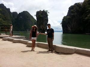 Phang Nga Bay Tour von Khao Lak mit Besuch beim James Bond Felsen.