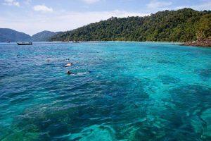 Khao Lak Ausflug zum schnorcheln Surin Island.
