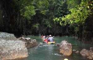 Phang Nga Bay Kanu Ausflug - Hong Island