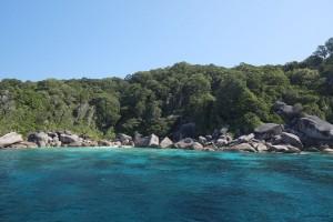 Tolle Natur bei den Surin Inseln