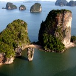 Ausflüge von Khao Lak in die Faszination der Phang Nga Bay.