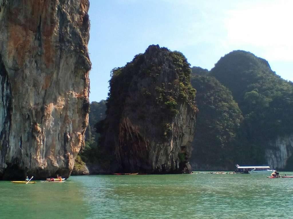 Phang Nga Bay Caves & Sea Canoe - Panak Island