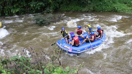White Water Rafting fun Khao Lak